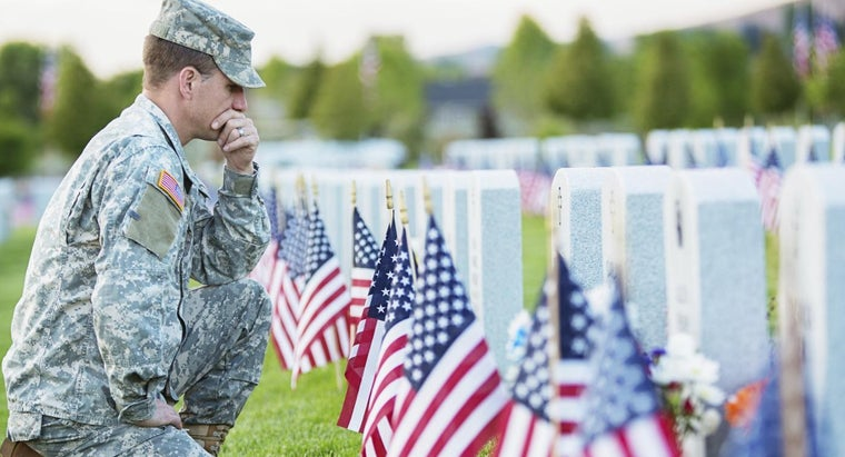 Why Are Coins Left on Military Headstones in Cemeteries?
