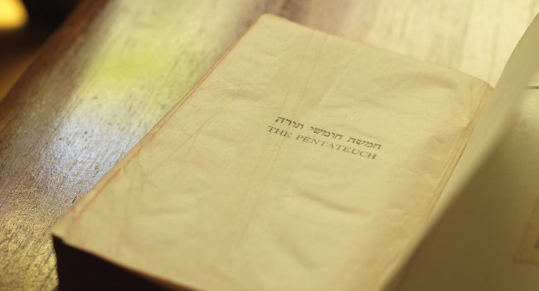 What Is the Collective Name for the First Five Books of the Bible?