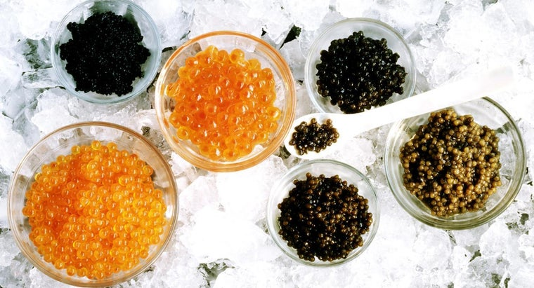What Color Is Caviar?