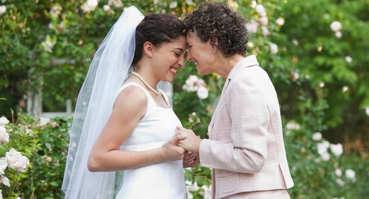 What Color Dress Does the Bride's Mother Wear?