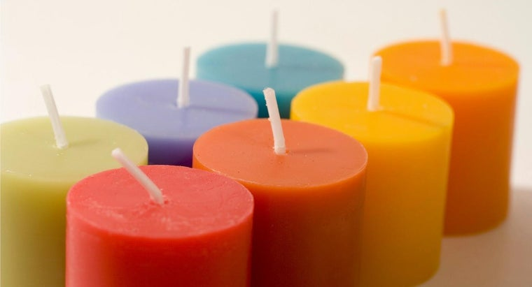 Does Color Impact the Burn Rate of Candles?