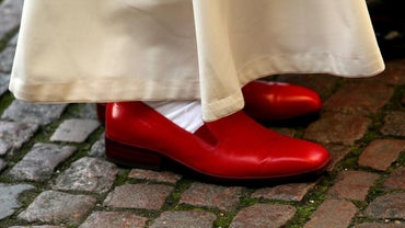 What Color Are the Pope's Shoes?