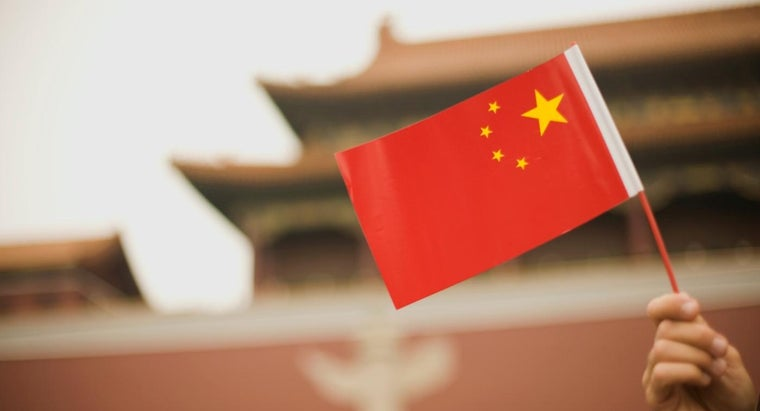 What Do the Colors of the Chinese Flag Represent?