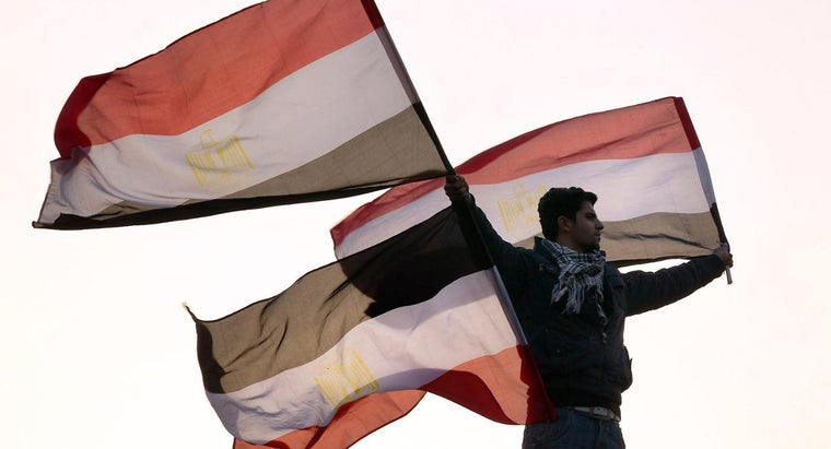 What Do the Colors of the Egyptian Flag Stand For?