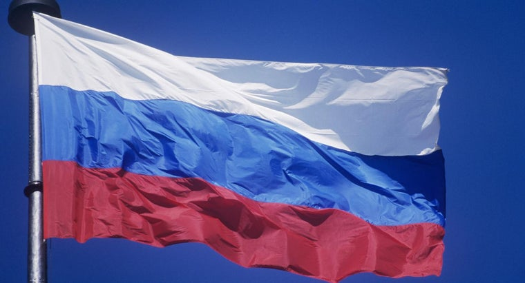 What Do the Colors on the Russian Flag Represent?