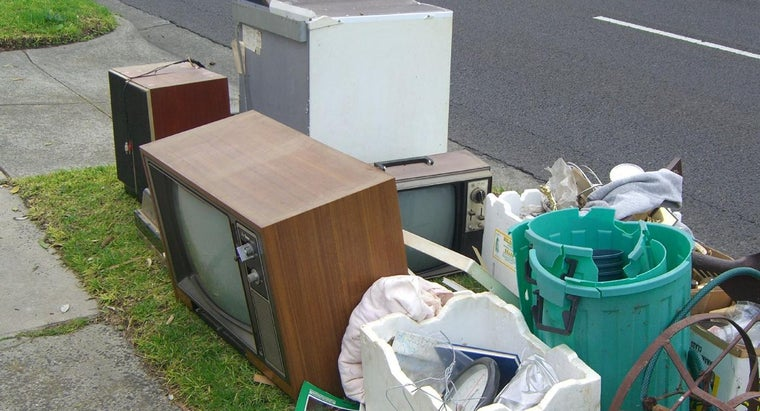 Is There a Comprehensive List of Services That Pick up Recycled TVs?