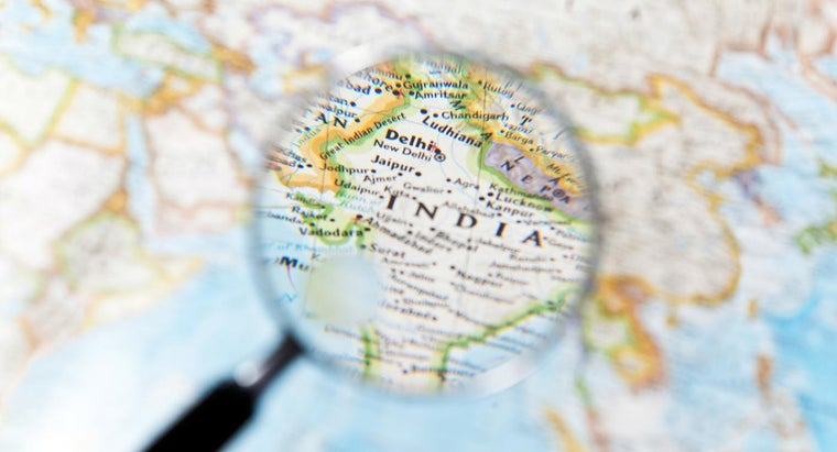On What Continent Is India Located?