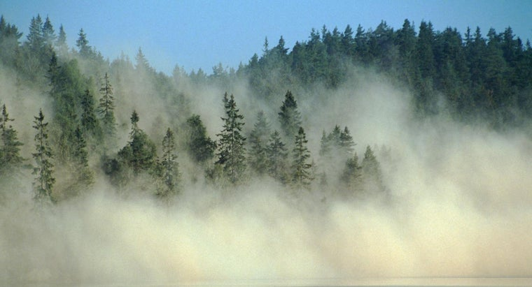 What Countries Are Affected by Acid Rain?
