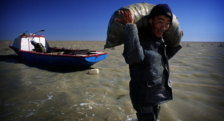 What Countries Border the Aral Sea?
