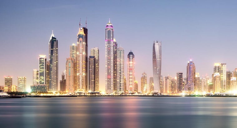 What Countries Surround Dubai?