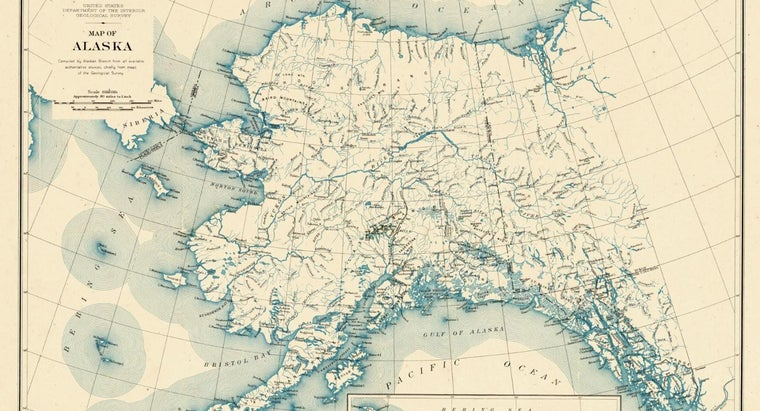 What Country Lies to the East of Alaska?