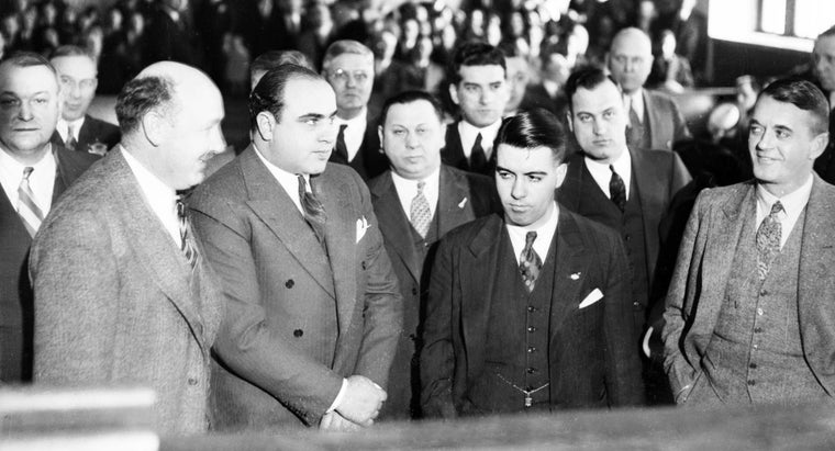 What Crime Was Al Capone Convicted Of?
