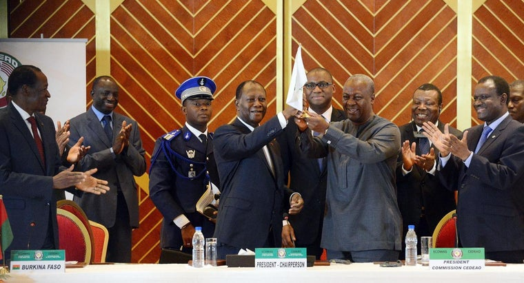 Who Is the Current Chairman of ECOWAS?