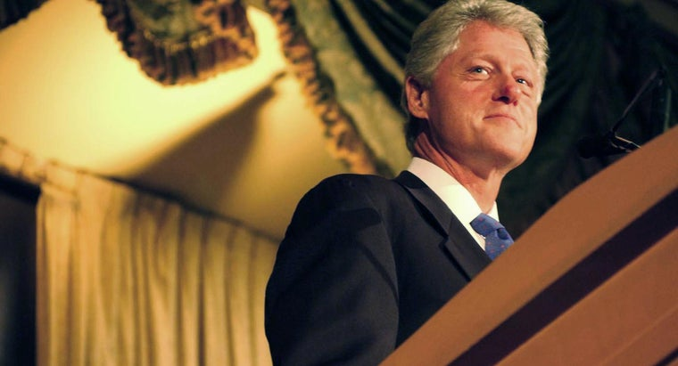 What Did Bill Clinton Do As Commander-In-Chief?