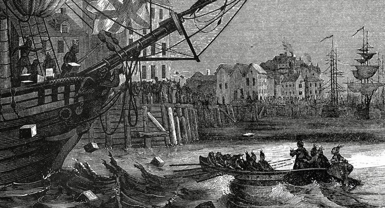 How Did the British Government Respond to the Boston Tea Party?