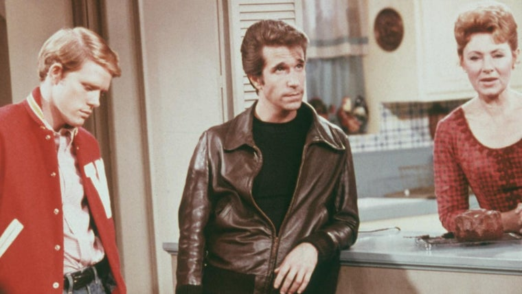 Did Fonzie Always Wear A Leather Jacket On Happy Days Reference Com