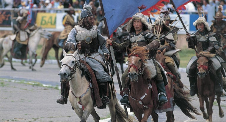 When Did the Mongols Invade China?