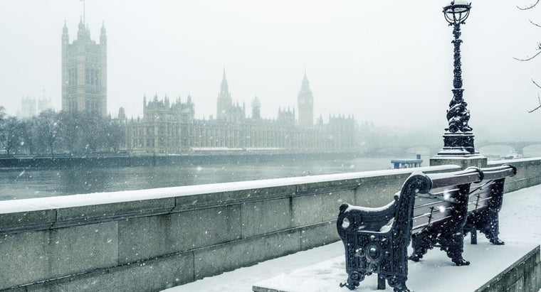 When Did the River Thames Last Freeze Over?
