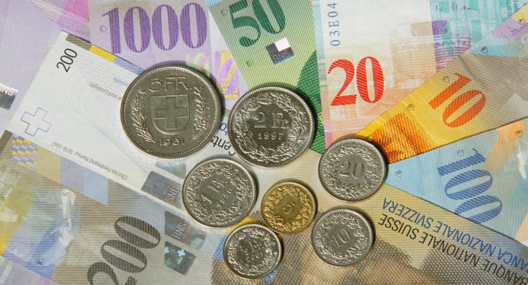 When Did Switzerland Start Using the Franc As Currency?