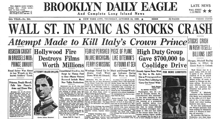 Why Did Thousands of American Banks Close After the Stock Market Crash?