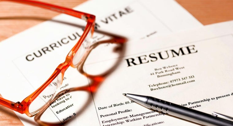What Is the Difference Between a Resume and a CV?