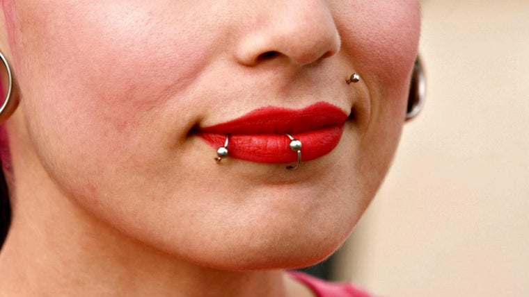 What Are The Different Types Of Lip Piercings Referencecom