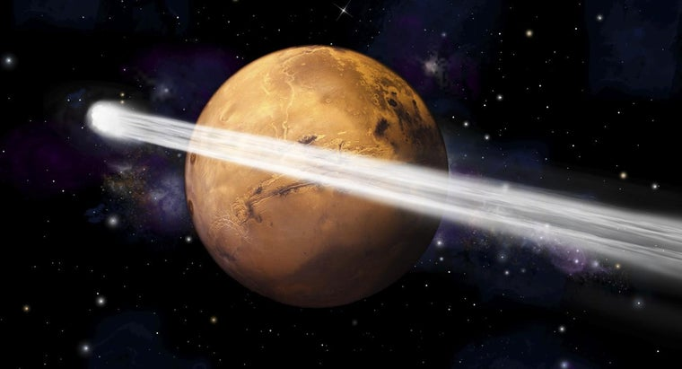 Who Discovered Planet Mars?