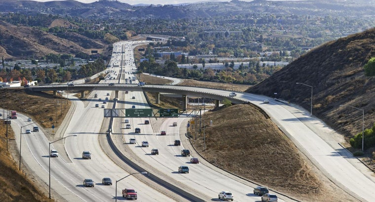 What Is a Divided Highway in California?
