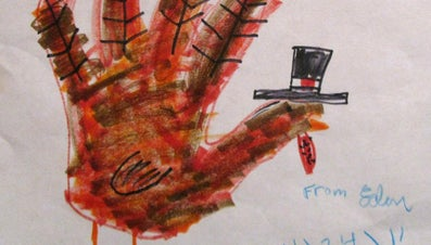 How Do You Draw a Turkey With Your Handprint?