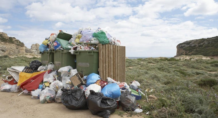 What Are Some of the Effects of Improper Waste Disposal?