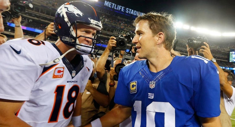 Does Eli Manning Have a Younger Brother?