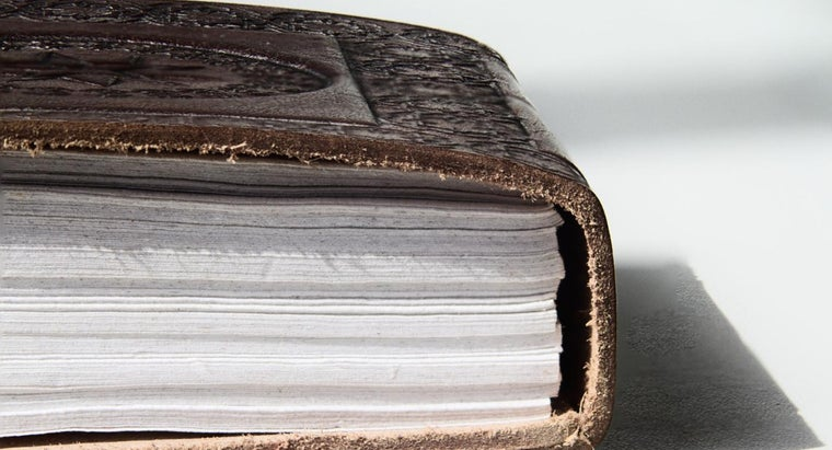 What Is an Embossed Leather Journal?