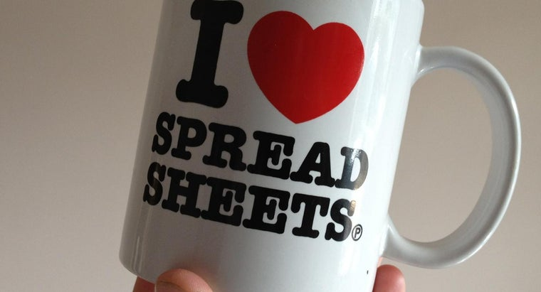 What Is an Example of an Electronic Spreadsheet?