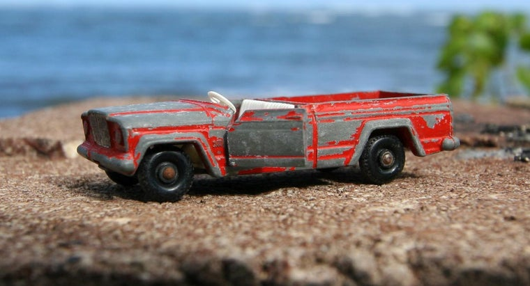 What Are Some Examples of Rare Matchbox Cars?