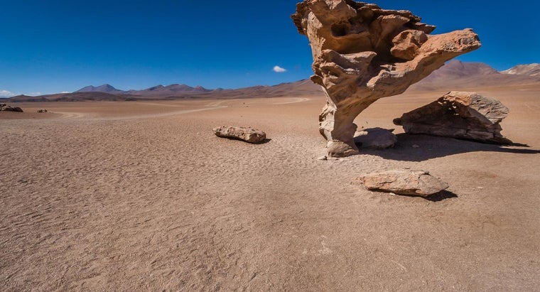 What Are Examples of Wind Erosion?