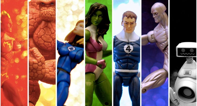 """What Characters Make up the """"Fantastic Four?"""""""