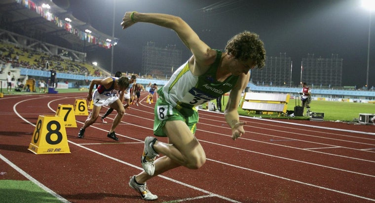 How Far Is 300 Meters Around a Track?