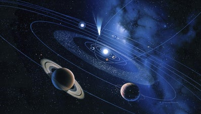 How Far Away Is Saturn From the Sun?