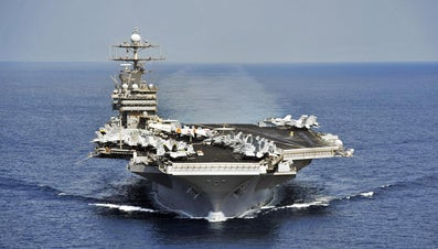 How Fast Does an Aircraft Carrier Go?