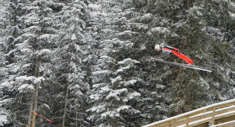 How Fast Do Ski Jumpers Go?