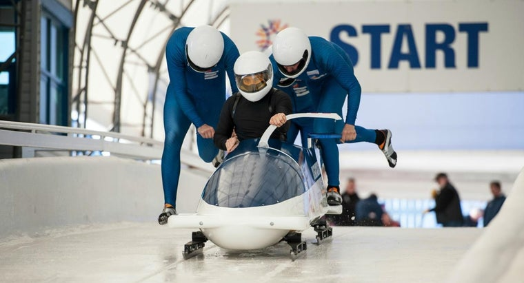 What Is the Fastest Speed Reached by a Bobsleigh?
