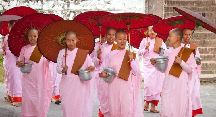 What Is a Female Monk Called?