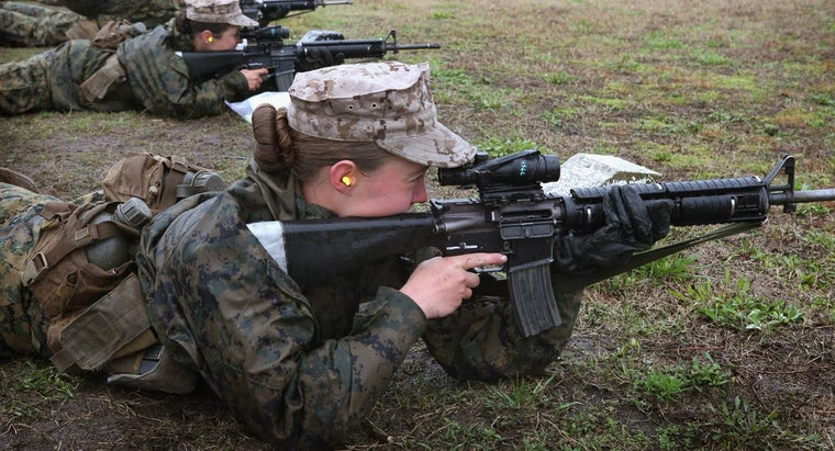 What Is a Female Soldier Called?