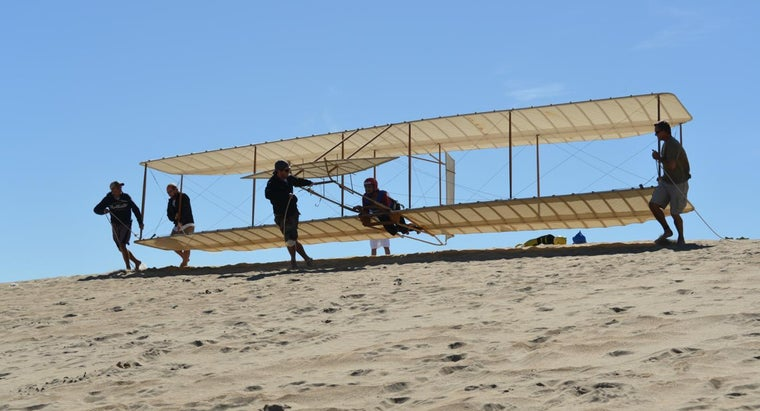 When Was the First Airplane Invented?