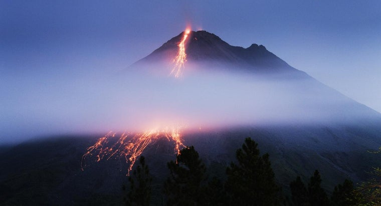 When Was the First Volcano Found?