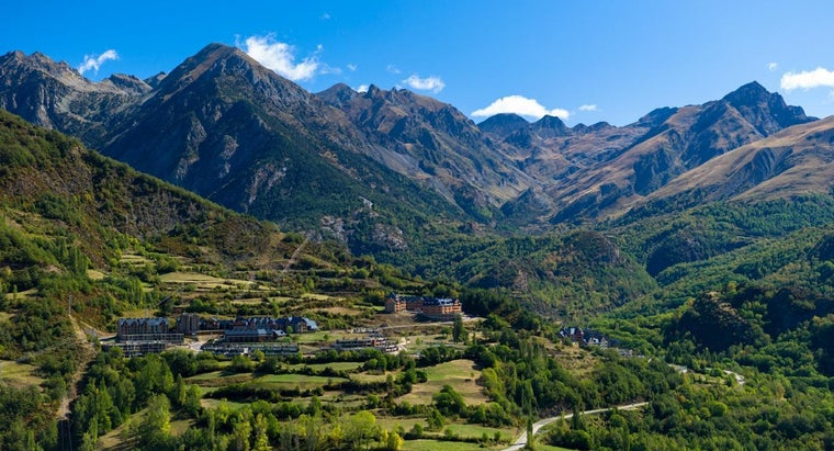 What Are the Five Mountain Ranges in Spain?
