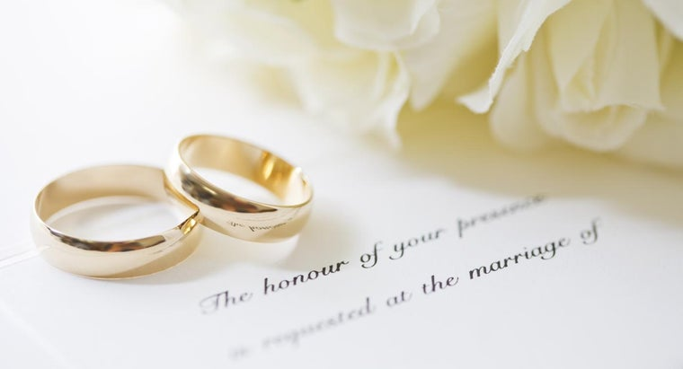 What Is a Formal Party Invitation Wording?