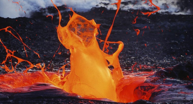 What Are the Four Types of Lava?