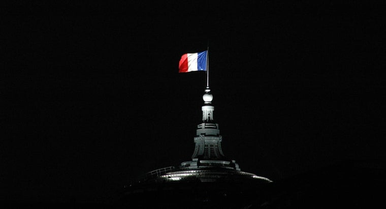 What Is the French Flag Called?