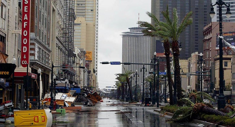 Was the French Quarter of New Orleans the Area That Was Hit Hardest by Hurricane Katrina?